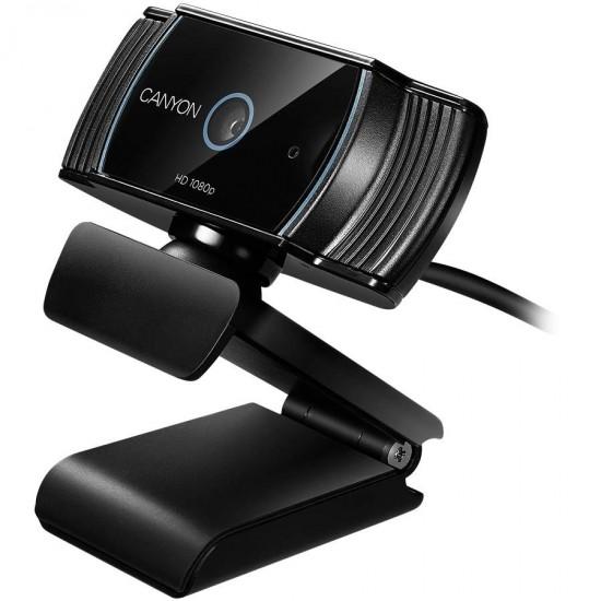Camera web Canyon 1080P, Full HD live streaming, 2.0 Mega pixels auto focus webcam