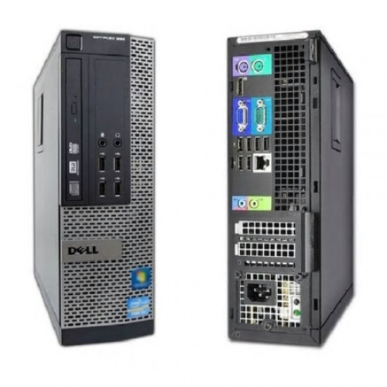 Calculator Dell Optiplex 990 Intel Core i7 2600 3400 Mhz | RAM 16 GB | Hard Disk 160 GB | DVD-RW