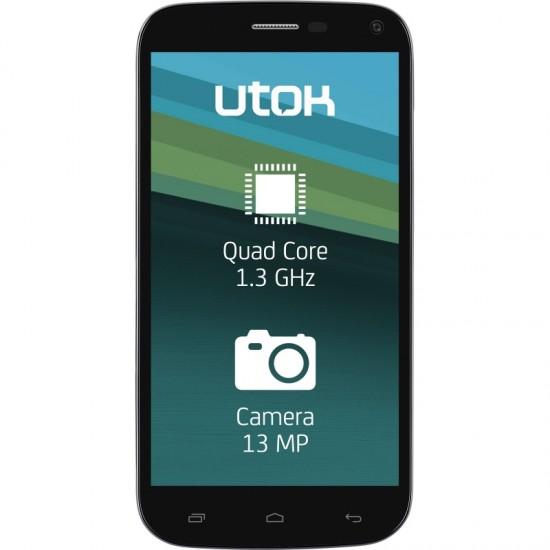 Telefon mobil UTOK 500QHD Deluxe Edition, Dual SIM, 8GB, Black