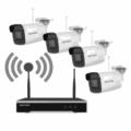 Kit supraveghere IP Wi-Fi